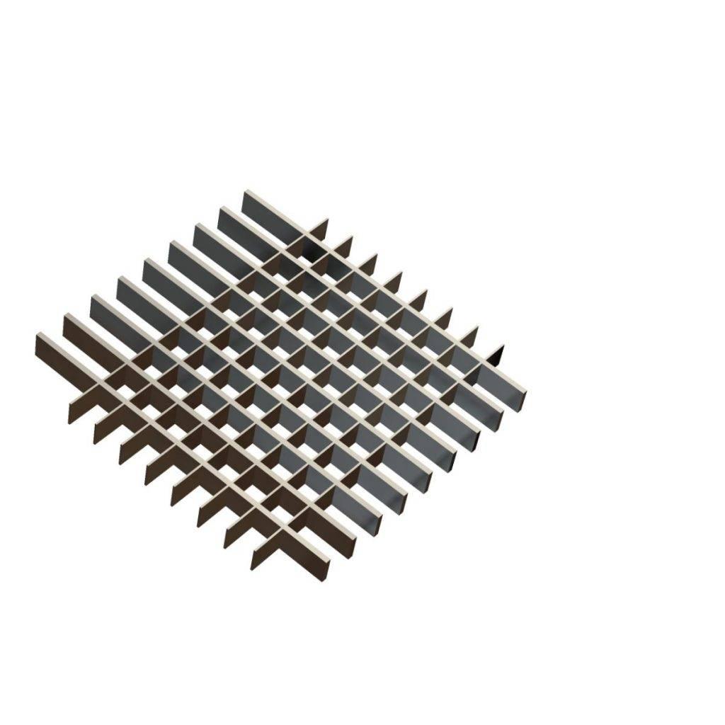 Open mesh flooring