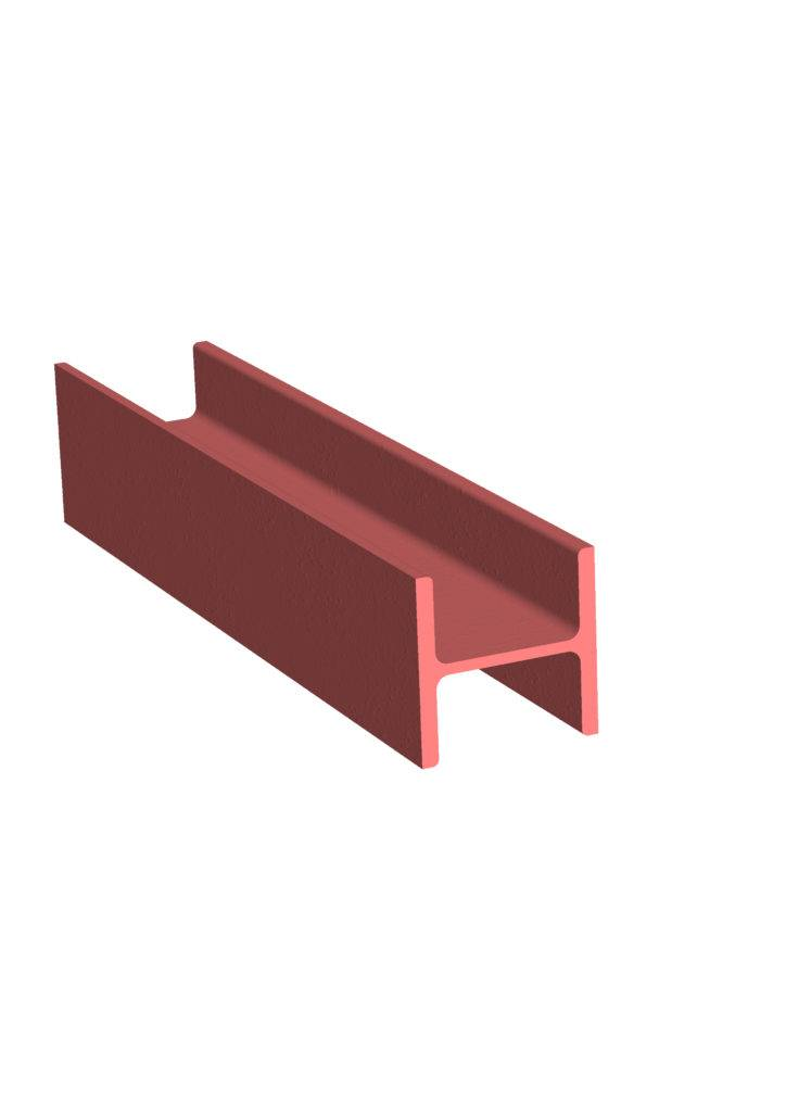 Steel H column