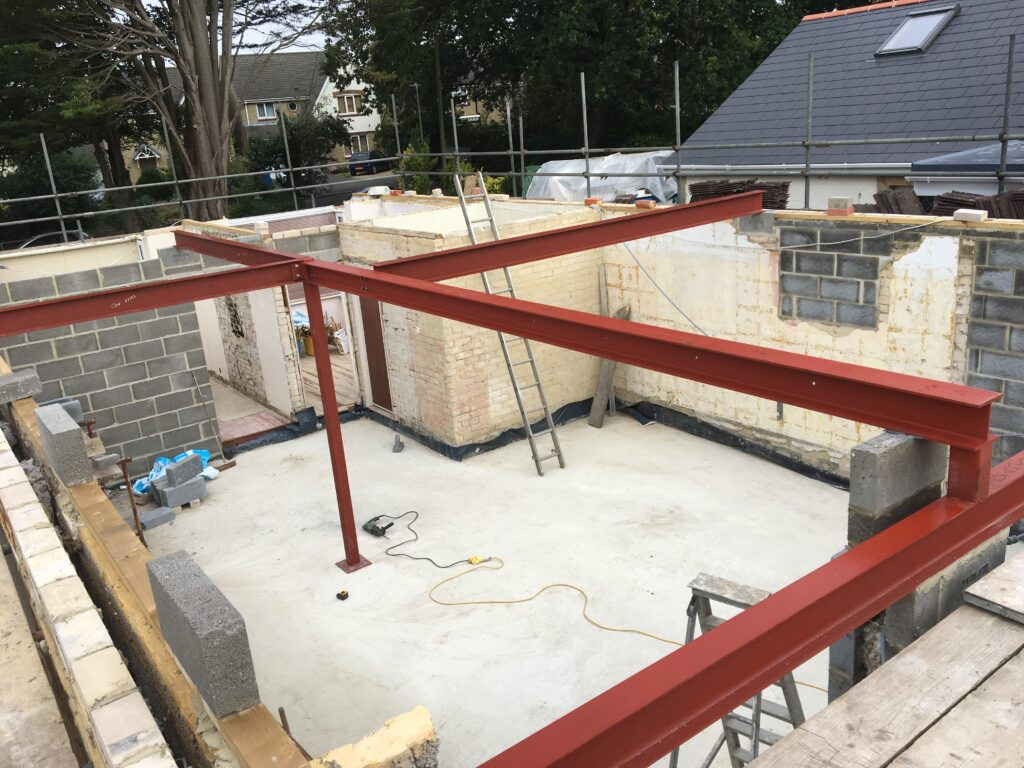 House Extension Structural Steel