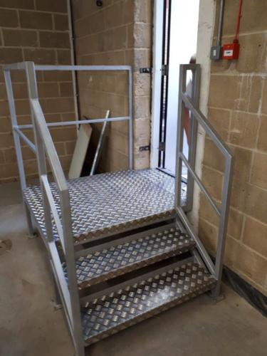 Steel Fire Escape